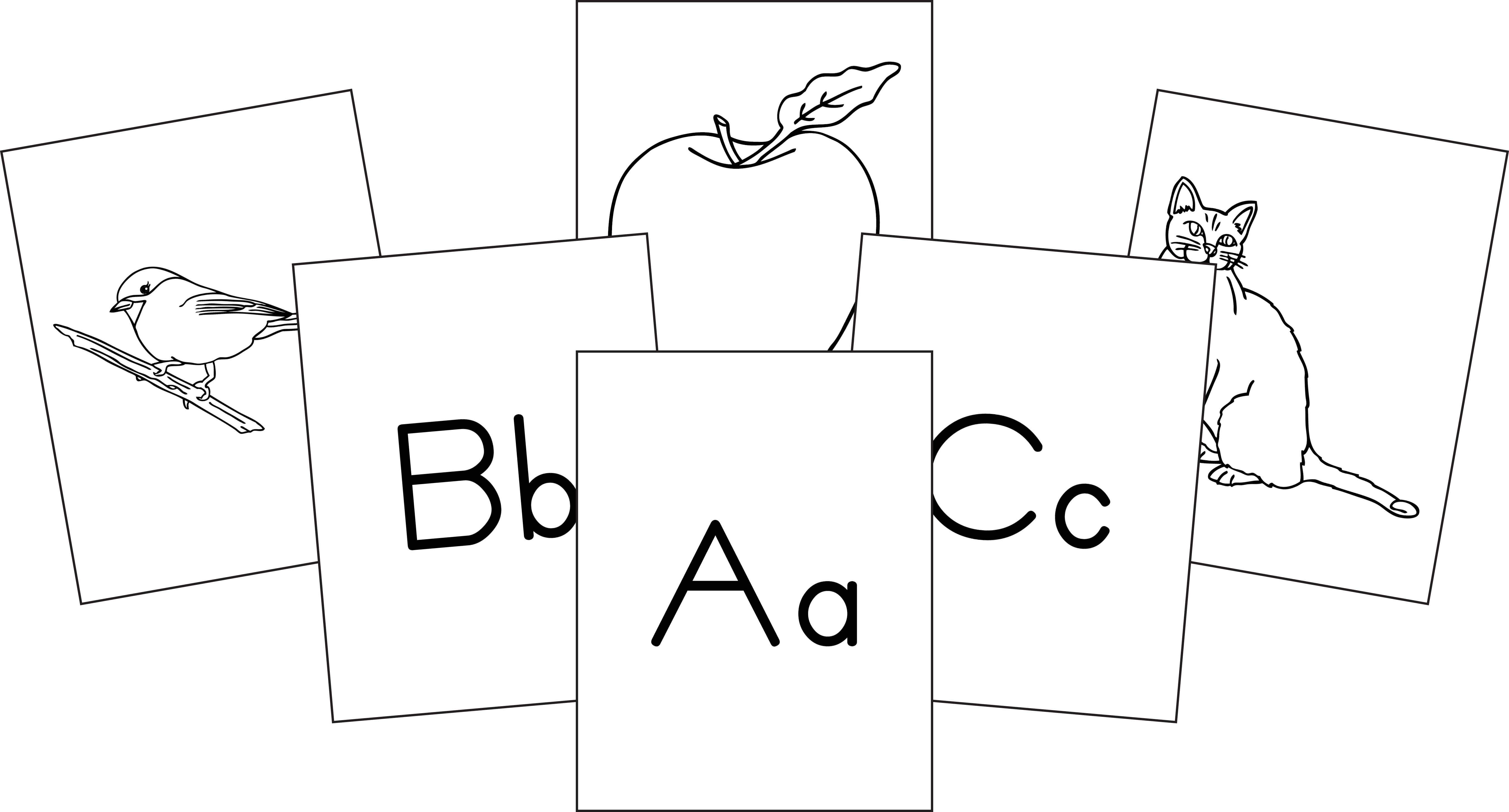 Biblical Hebrew Alphabet Flash Cards Printable | Cardfssn org